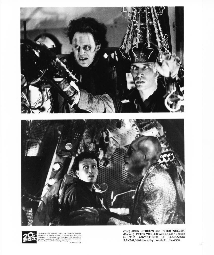 Adventures of Buckaroo Banzai John Lithgow Peter Weller Press Photo Movie Still