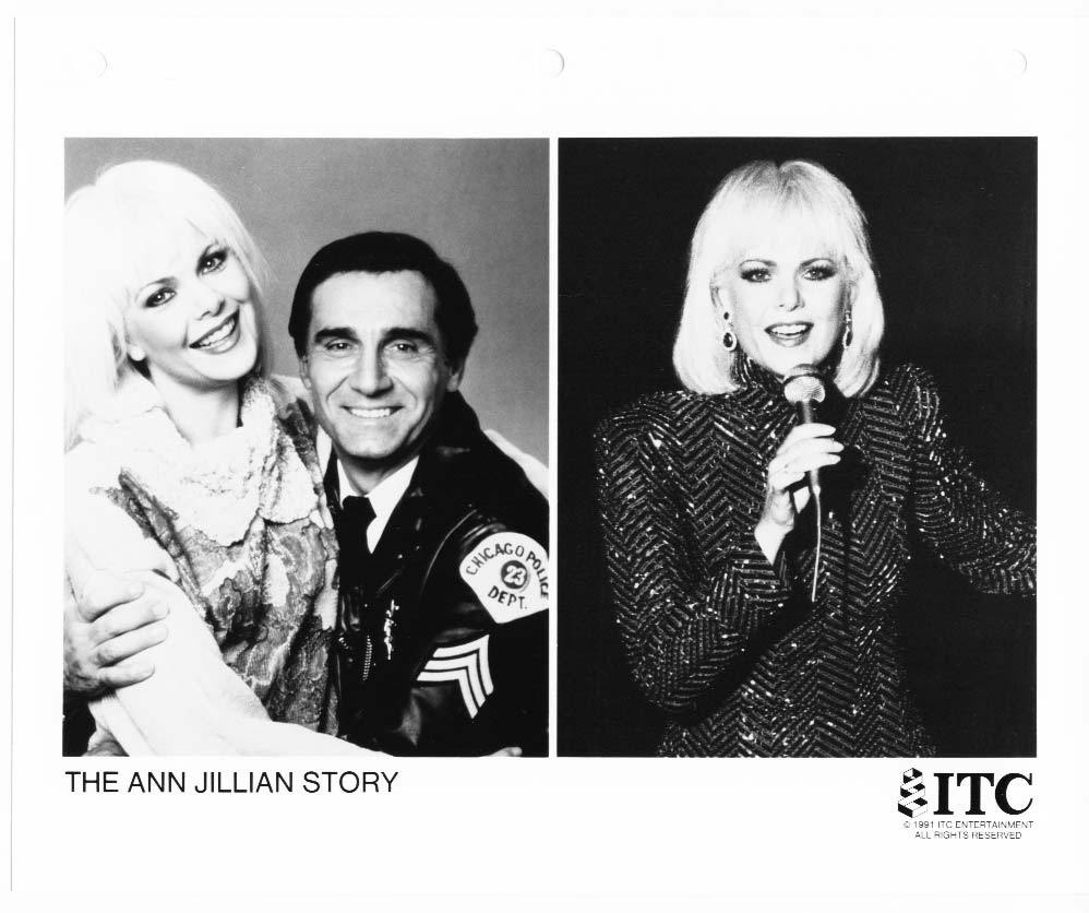 Ann Jillian Story Tony Lo Bianco Press Photo TV Movie Still Publicity