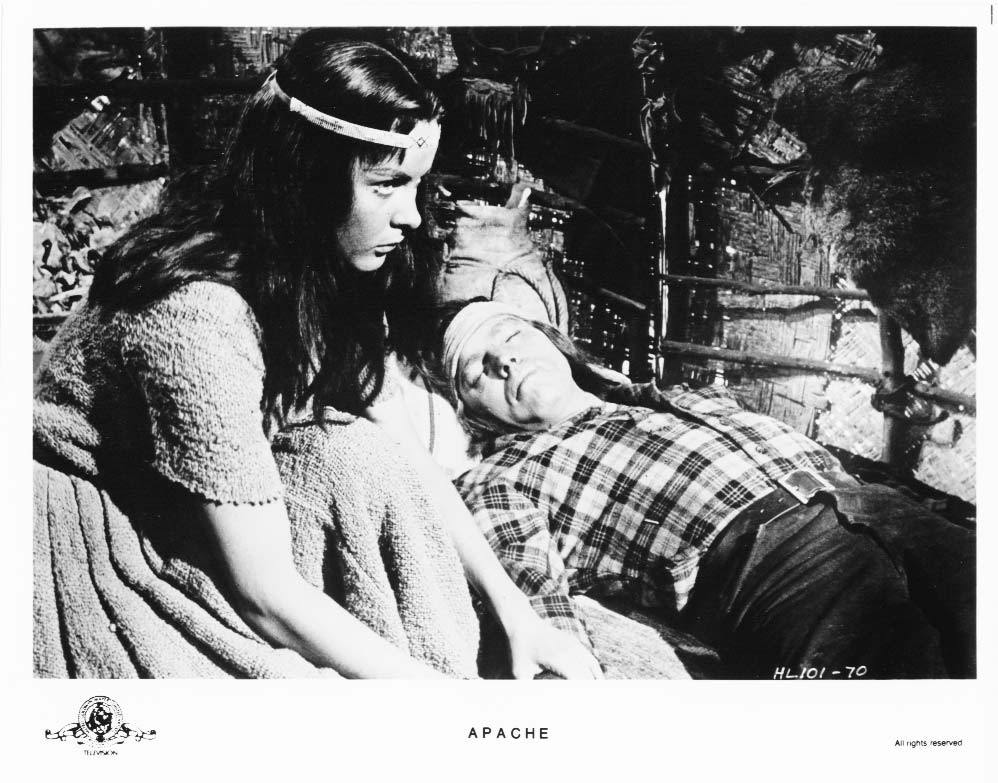 Apache Burt Lancaster Jean Peters Press Photo Movie Still Publicity