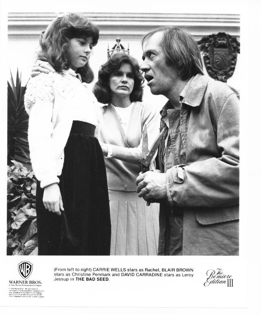 Bad Seed David Carradine Carrie Wells Blair Brown Press Photo Movie Still