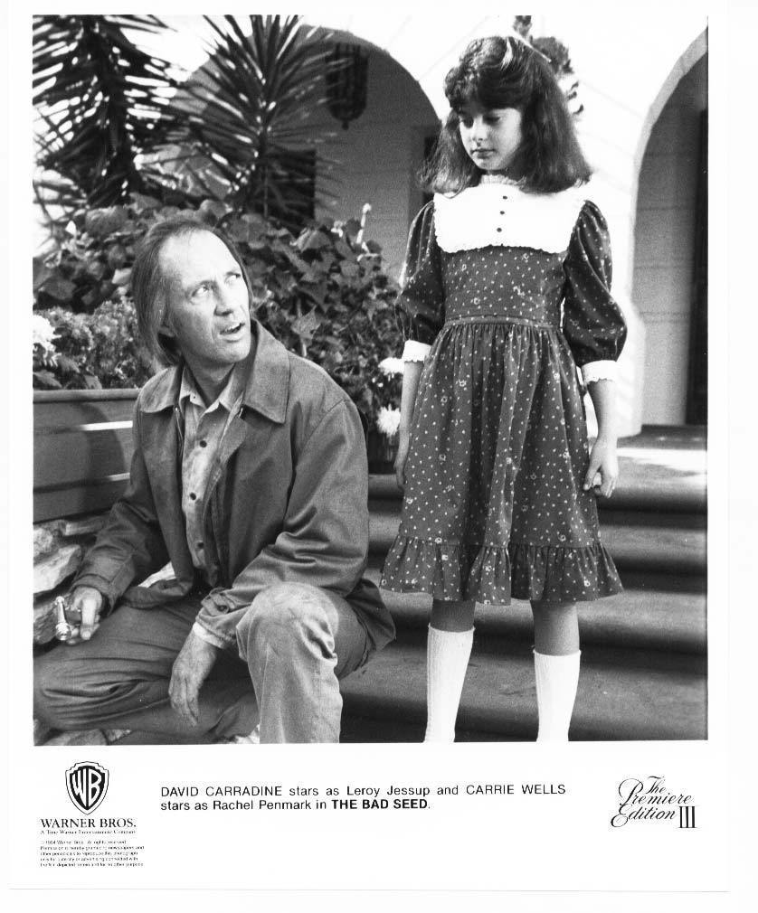 Bad Seed David Carradine Carrie Wells Press Photo Movie Still