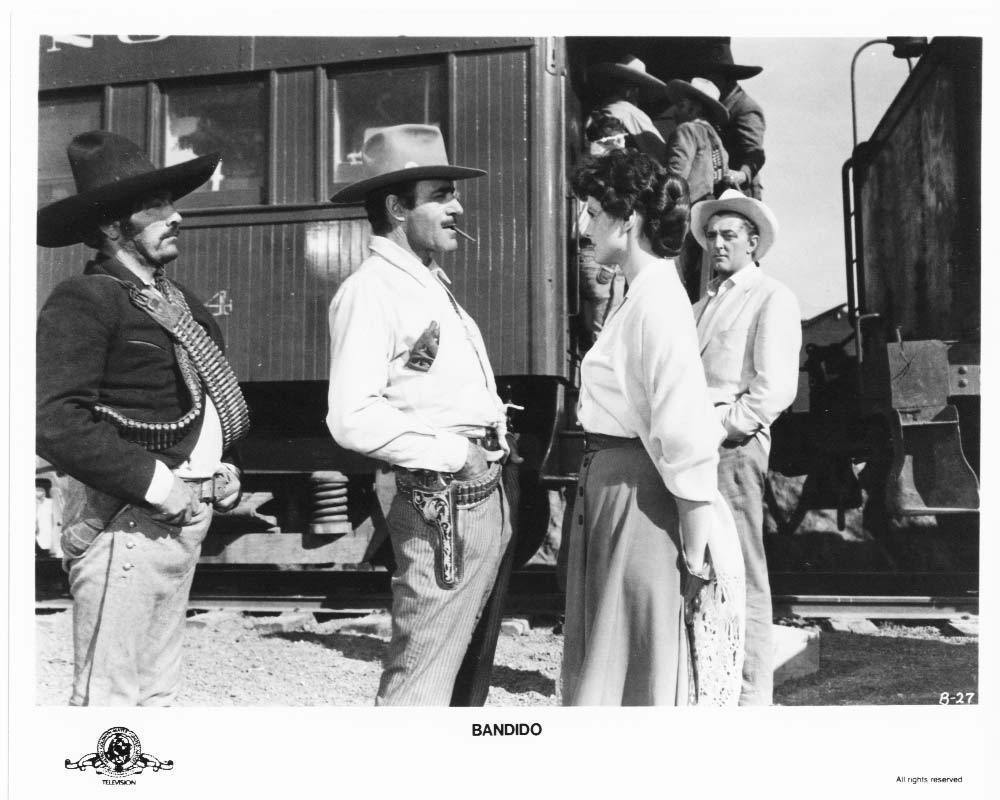 Bandido Robert Mitchum Ursula Thiess Press Photo Movie Still Publicity