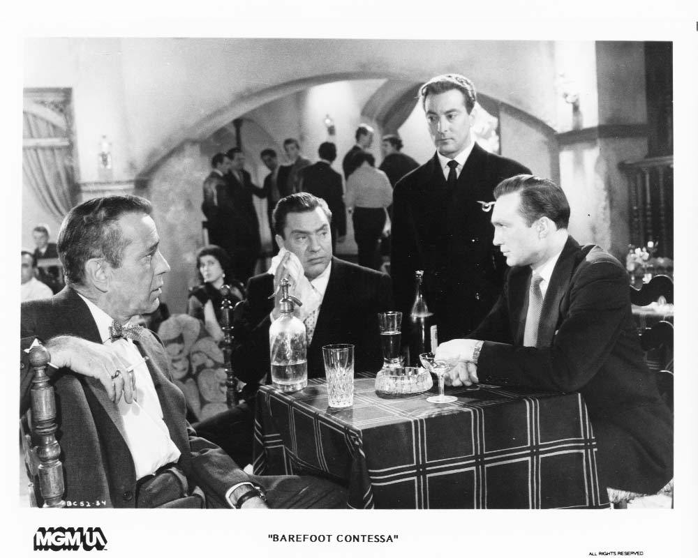 Barefoot Contessa Ava Gardner Humphrey Bogart Edmond O'Brien Press Photo Movie
