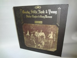 CROSBY,STILLS,NASH & YOUNG DALLAS TAYLOR & GREG REEVES DEJA VU Vinyl LP... - $11.82