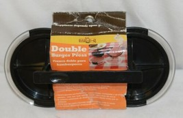 Mr BARBQ 40140X Double Burger Press Ground Meats Poultry Hand Wash image 1