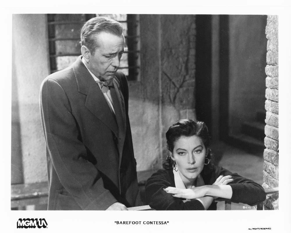 Barefoot Contessa Ava Gardner Humphrey Bogart Press Photo Movie Still Publicity