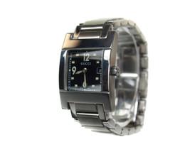 Auth GUCCI 7700L Black Dial Date Stainless Steel Women's Quartz Watch GW... - $395.42 CAD