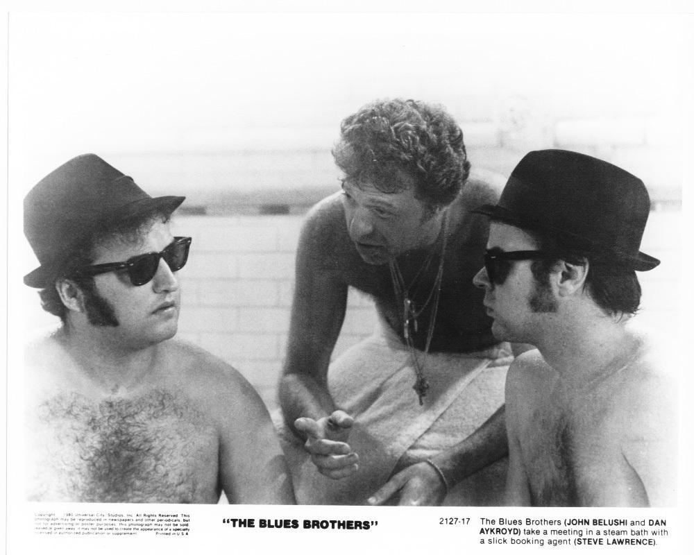 Blues Brothers 1980 John Belushi Dan Aykroyd Steve Lawrence Press Photo Movie