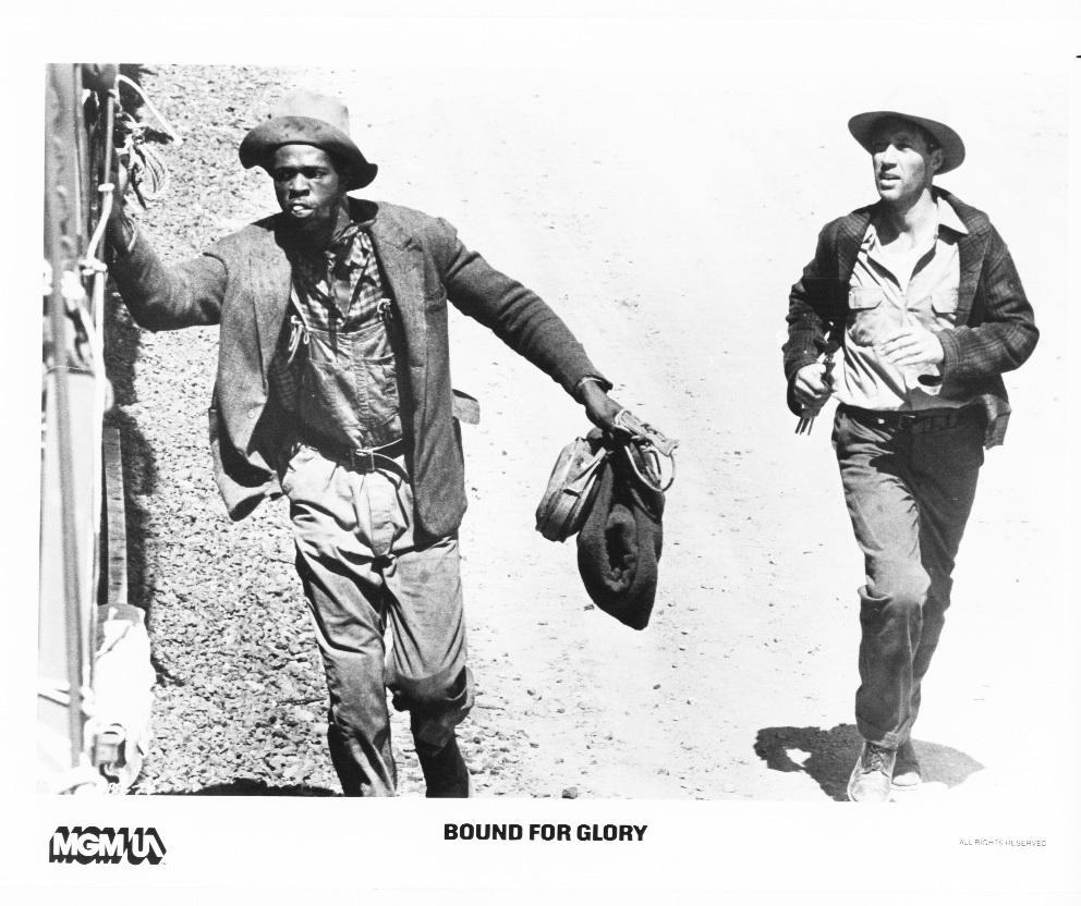 Bound for Glory David Carradine Ji-Tu Cumbuka Press Photo Movie