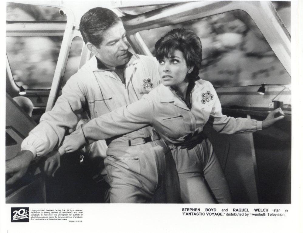 Fantastic Voyage Raquel Welch Stephen Boyd Press Photo Movie Promo Publicity