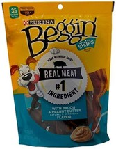 Purina Beggin' Strips Bacon & Peanut Butter Dog Treats - Pack of 3, 6 Oz... - $40.47 CAD