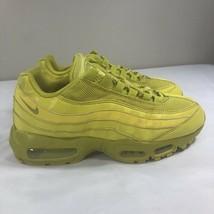 2011 Nike Air Max 95 Running Shoes Women's 8.5 Men's 7 Triple Yellow 97 98 - $69.99