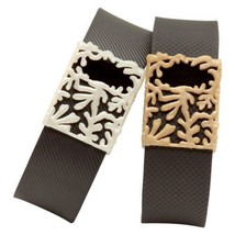 Fitbit Charge & Charge HR Matisse Bytten 2-Pack Accessory Pearl White Sa... - $4.16
