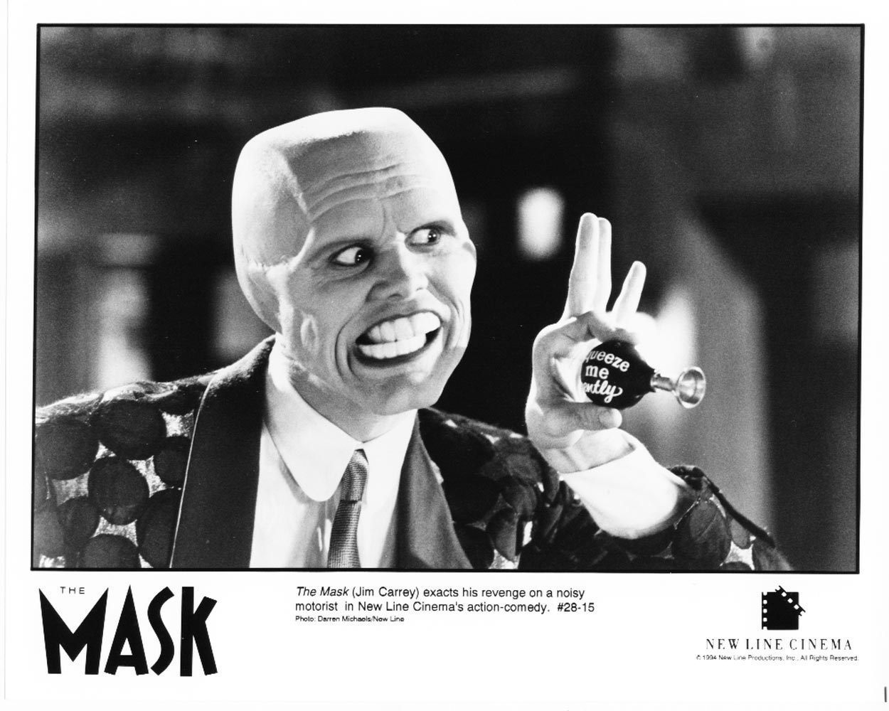 1994 The Mask Jim Carrey New Line Theatrical Press Publicity Photo 4 Movie