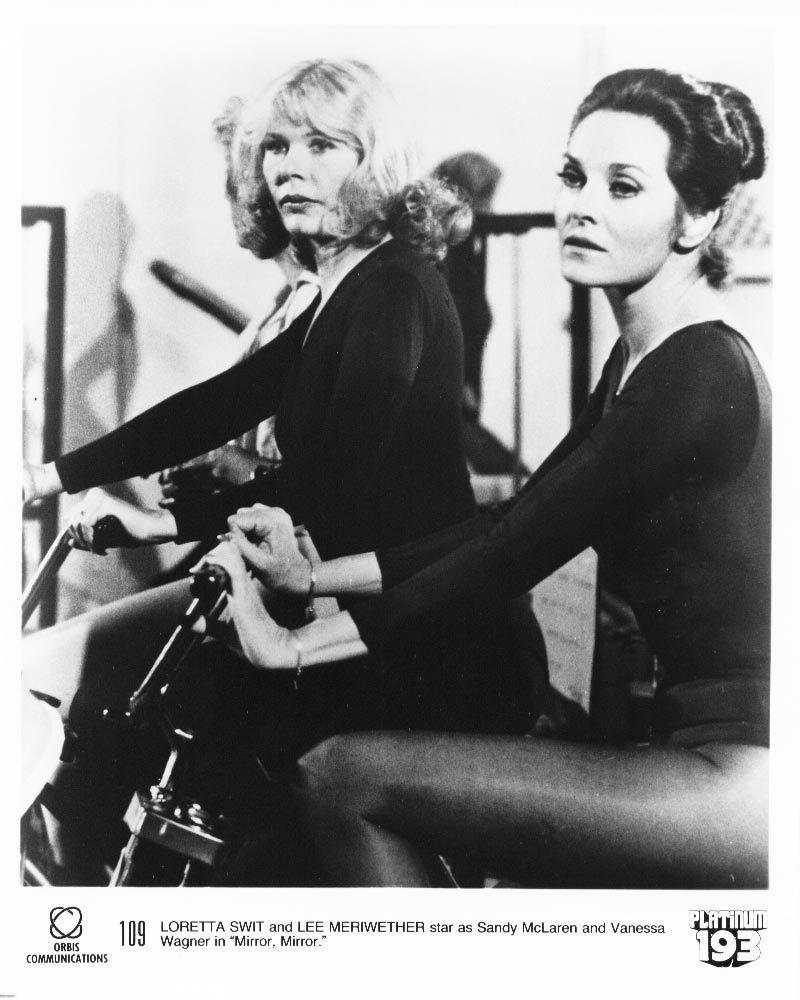 2 1979 Mirror Mirror Loretta Swit Walter Brooke Lee Merriwether Press Photos TV