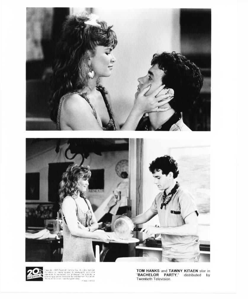 2 Bachelor Party Tom Hanks Tawny Kitaen Press Photos Publicity Promo Film Movie