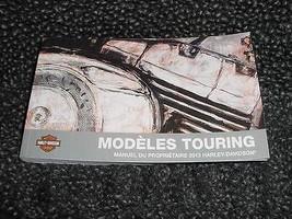 2013 Harley Davidson Touring Models FRENCH Owner's Manual 99466-13FR - $30.67
