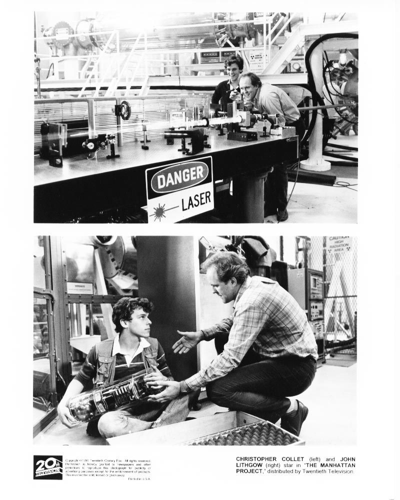 2 Manhattan Project John Lithgow Christopher Collet Press Photos Publicity Movie