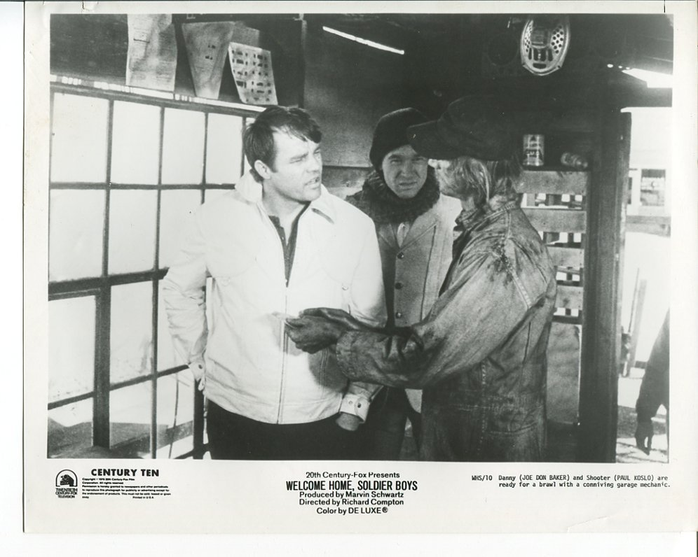 2 Welcome Home Soldier Boys Press Photos Joe Don Baker Paul Koslo Movie 1971