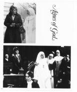 3 Agnes of God Jane Fonda Anne Bancroft Meg Tilly Press Photos Movie Film - $6.49