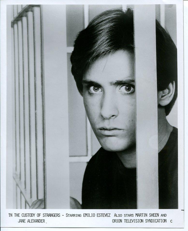 3 In the Custody of Strangers Emilio Estevez Martin Sheen Press Photo Movie 1982