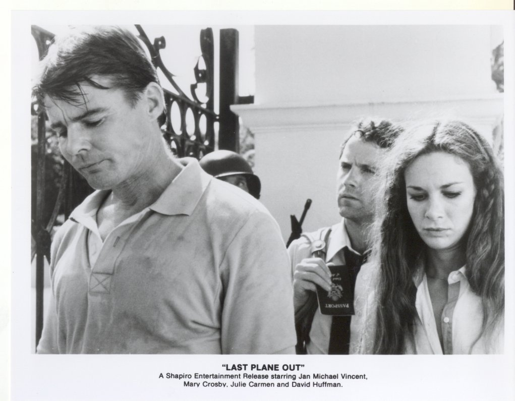 3 Last Plane Out Jan Michael Vincent Mary Crosby Press Photos Film Movie