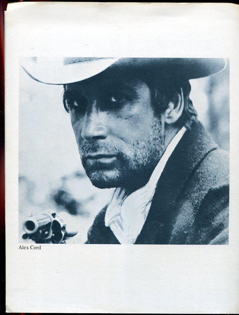 3 Minute to Pray A Second to Die Arthur Kennedy Press Photo Kit Movie 1968