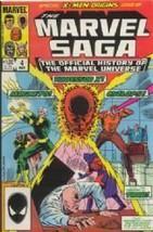 The Marvel Saga #4 X-Men Origins (Volume 1) [Comic] by Peter Sanderson - $7.99