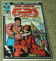 PSI Force No 6 Apr 1987 (Volume 1) [Comic] by Danny Fingeroth - $7.99