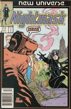 Nightmask #2 December 1986 [Comic] by Archie Goodwin; Ernie Colon - $7.99