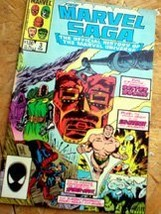 """Marvel Saga - The Official History of the Marvel Universe """"A Gathering o... - $7.99"""