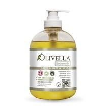 Olivella Face & Body Liquid Soap Pump Raw Fragrance Free 16.9 fl oz 500 ml - $13.34