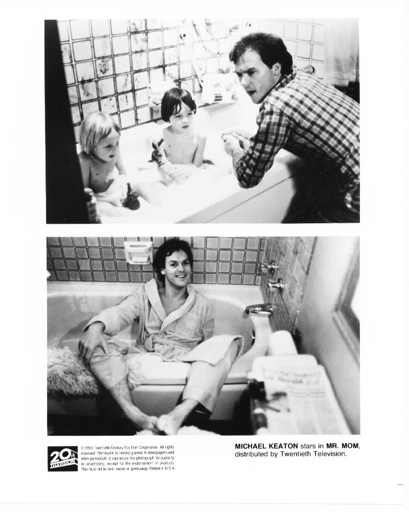 4 Mr Mom Michael Keaton Teri Garr Press Promo Photos TV Film Movie