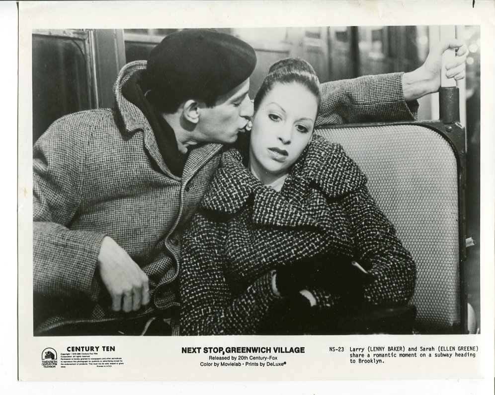 Primary image for 4 Next Stop Greenwich Village Press Photos Lenny Baker Ellen Greene Movie 1976