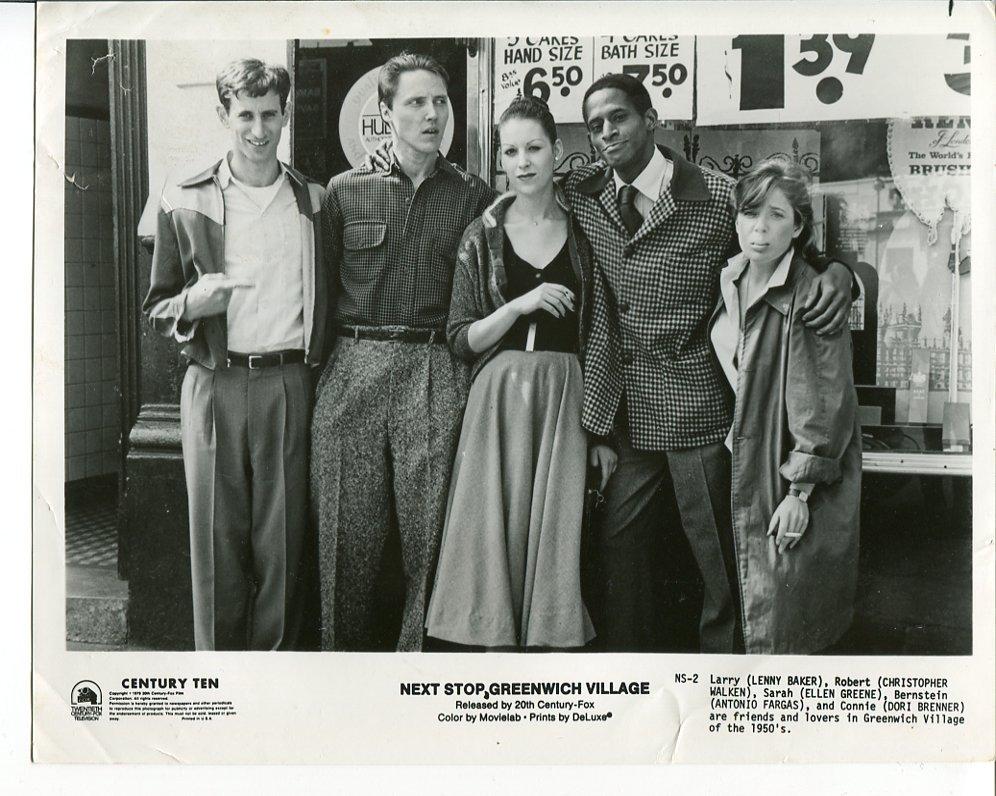 4 Next Stop Greenwich Village Press Photos Lenny Baker Ellen Greene Movie 1976