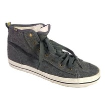 Keds High Top Sneakers Gray Felt Shoes Womens Size 7.5 - $39.31 CAD