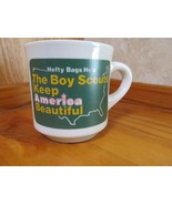 Boy Scouts Hefty Bags Keep America Beautiful Coffee Mug Cup! - $12.82