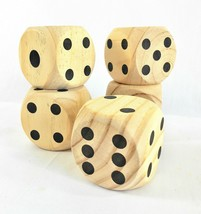 Jumbo Wooden Dice Game – Set of 5 - $36.12