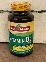 Nature Made Vitamin D3 1000 IU, 25 mcg 650 Softgels ( EXP. 02 / 2022 ) - $17.82