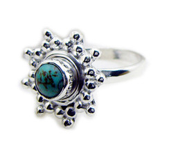 ideal Turquoise 925 Sterling Silver Multi Ring Natural general US - $14.84
