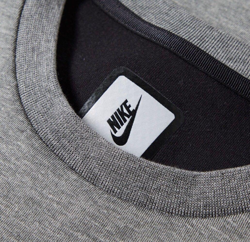 dd6905db078e ... NIKE NikeLab ESSENTIALS HEATHER GREY BLACK 823671 063 US MENS SIZE XL  ...