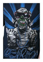 Osiris Shoes Mens Navy Cool Zombie Mummy Sunglasses T-Shirt Medium NWT image 1