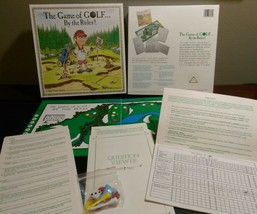 Vintage THE GAME OF GOLF By the rules! Golf trivia board game - $6.50