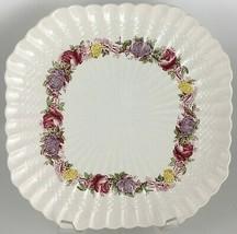 Spode Rose Briar Square luncheon plate - $10.00