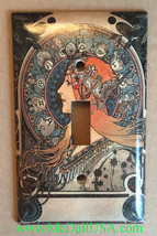 Art Nouveau Artists Light Switch Duplex Outlet Wall Cover Plate Home decor