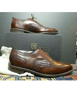 Men's Allen Edmonds University Cognac Leather Oxford Dainite Sole Sz. 14... - $106.51