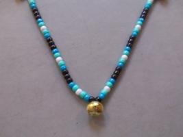 HAWAIIAN NIGHTS ~ RHYTHM BEADS ~ Dk.Turquoise, Lt.Turquoise, Black, Whit... - $17.00