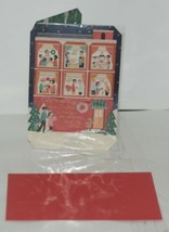 Hallmark XZH 642 1 Multi Cultural Christmas Card Red Envelope image 1