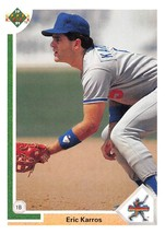 1991 Upper Deck Star Rookie #24 Eric Karros RC Rookie Card > Los Angeles Dodg - $0.99