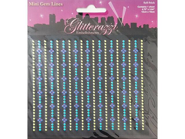 Multicraft Imports Glitterazzi Embellishments Stickers #MZ050B